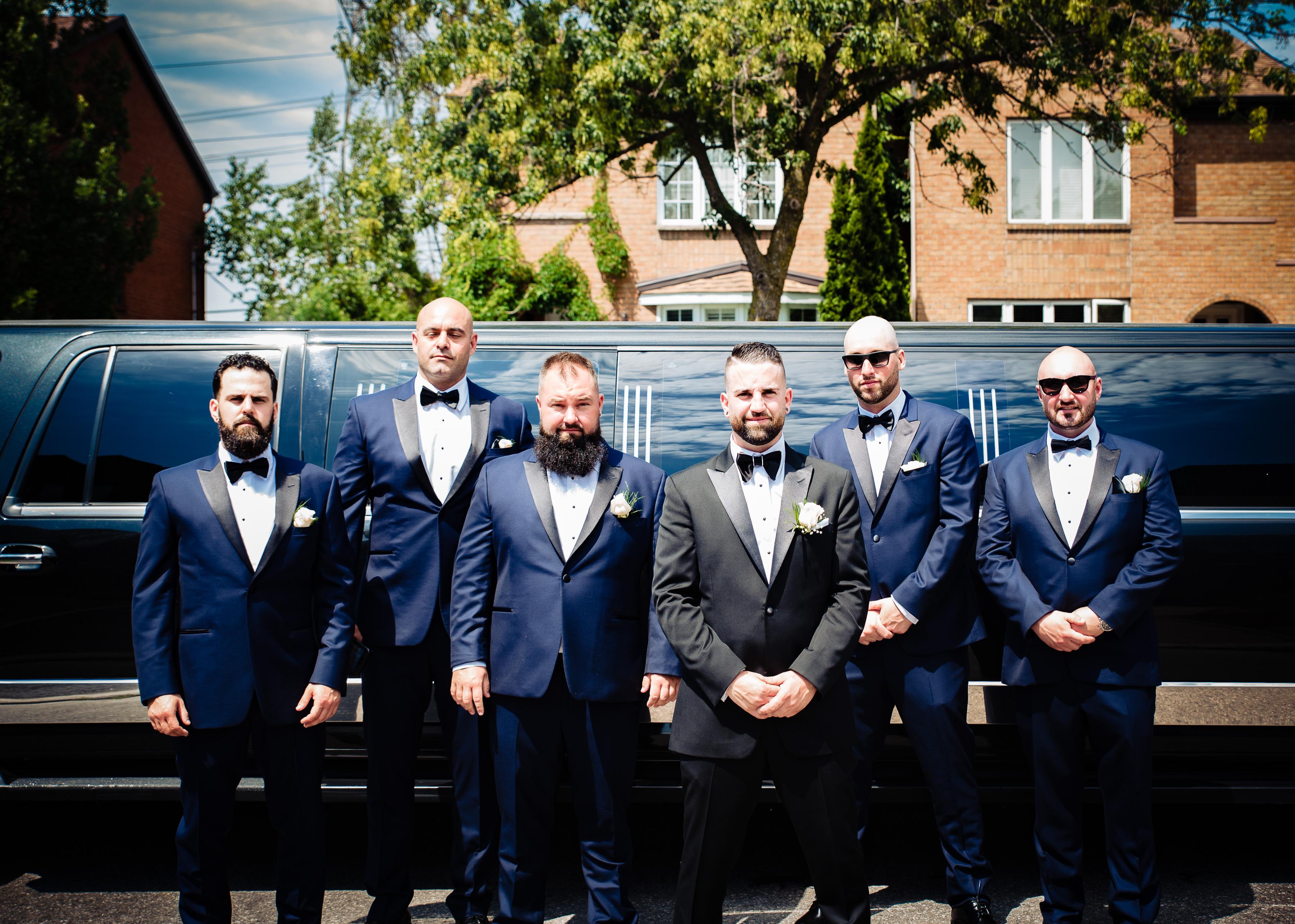 mariage-cortege-garcons-dhonneur-preparation-montreal